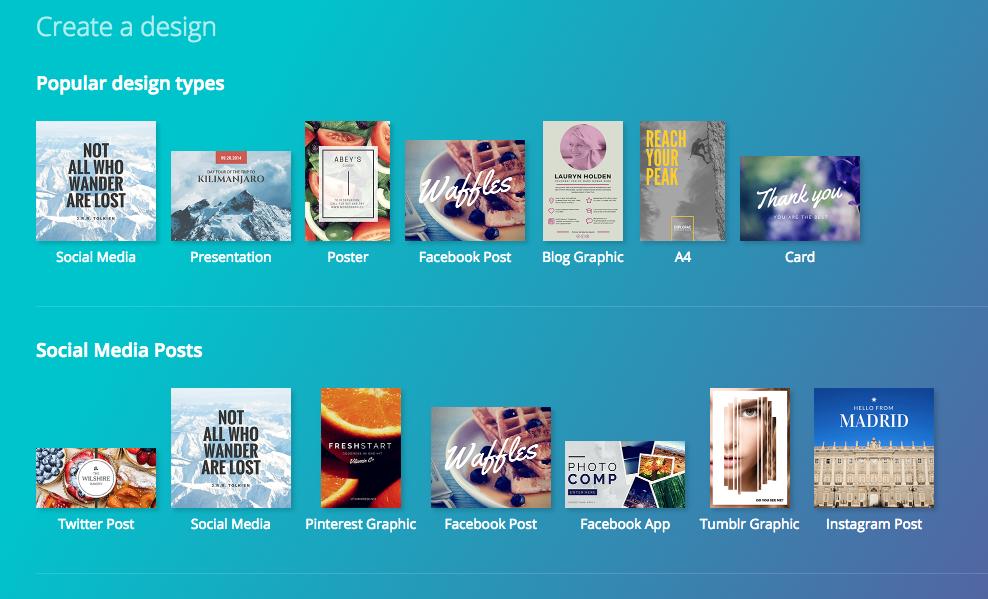 canva free online design tools digital marketing resource