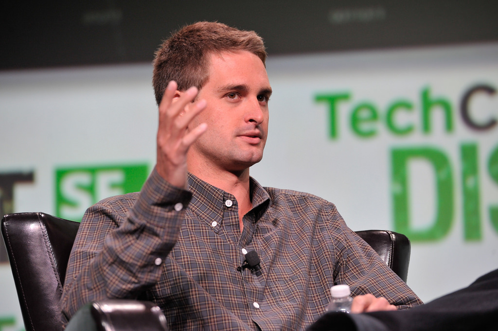 evan spiegel co founder of snapchat co founder of snap inc a history of snapchat