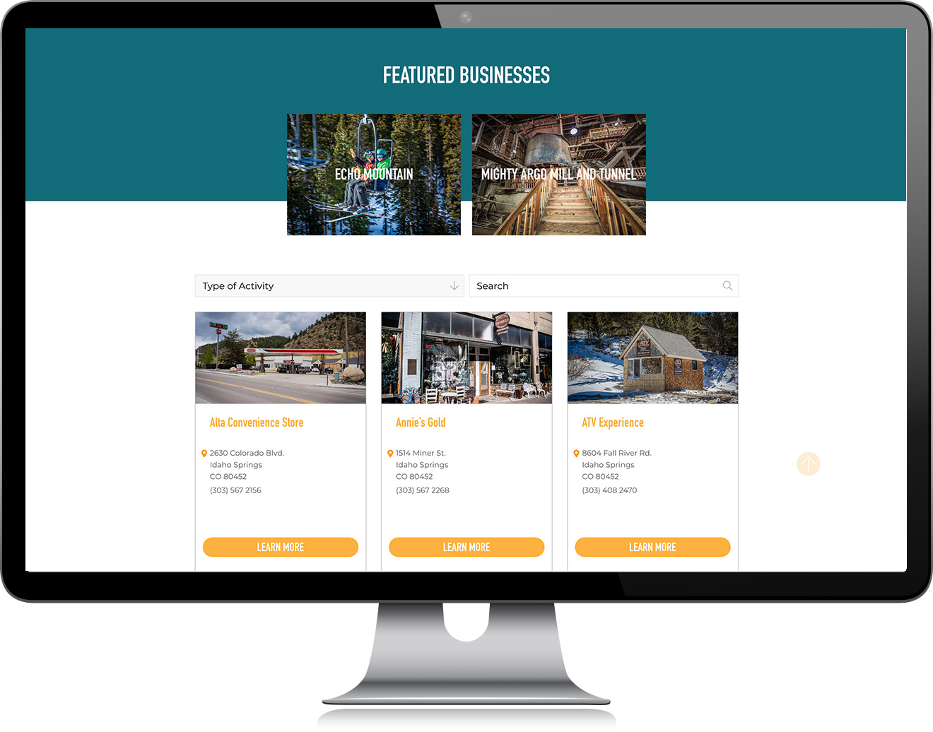 Directory Design Website