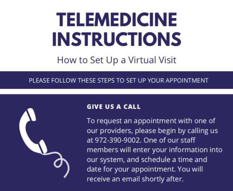 telemedicine infographic example